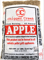Apple Grilling & Smoking Pellets