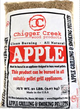 Apple Grilling & Smoking Pellets