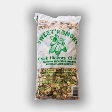 Sweet 'N Smoky Ozark Hickory Chips