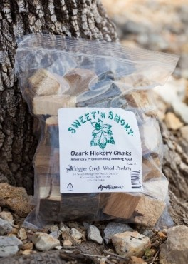 Sweet 'N Smoky Ozark Hickory Chunks